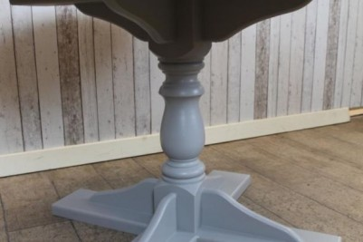 handmade pedestal base table