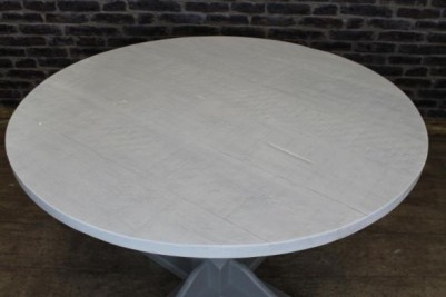white wash cafe table
