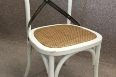 bentwood chair distressed