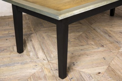 wooden base dining table