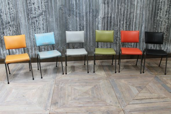 Bright Coloured Stacking Chairs