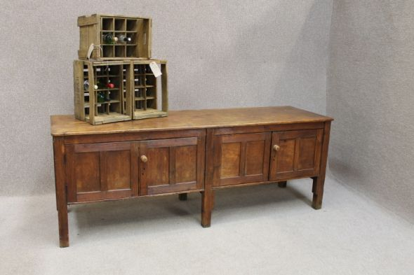 large victorian sideboard