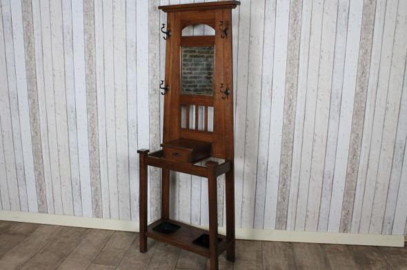 Victorian Coat and Hat Stand