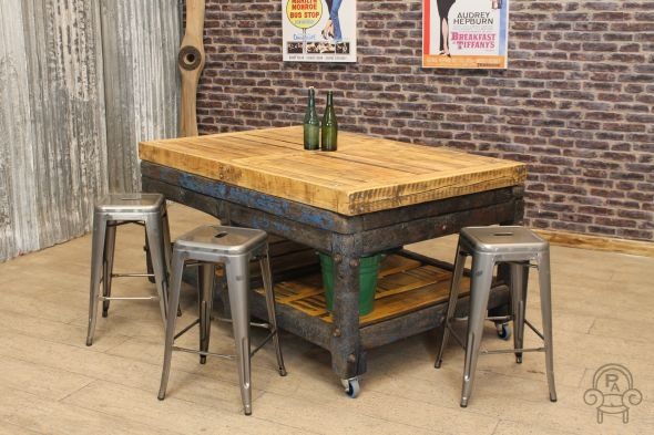 Butchers block table001