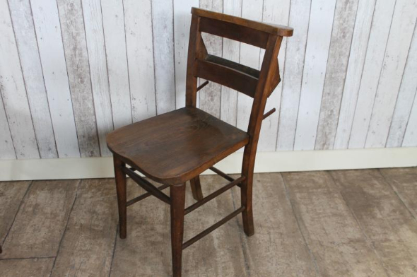 - ANTIQUE CHAPEL CHAIR ORIGINAL CHURCH CHAIRS INDIVIDUALLY OR SETS UK