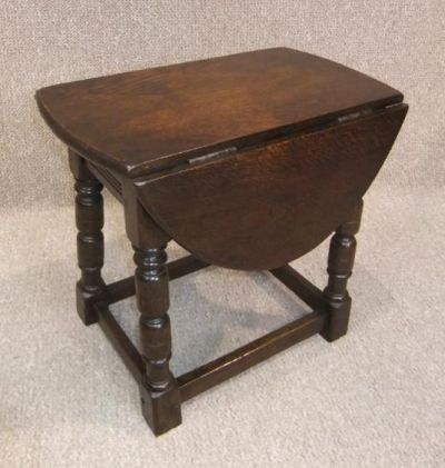 1920s drop leaf table