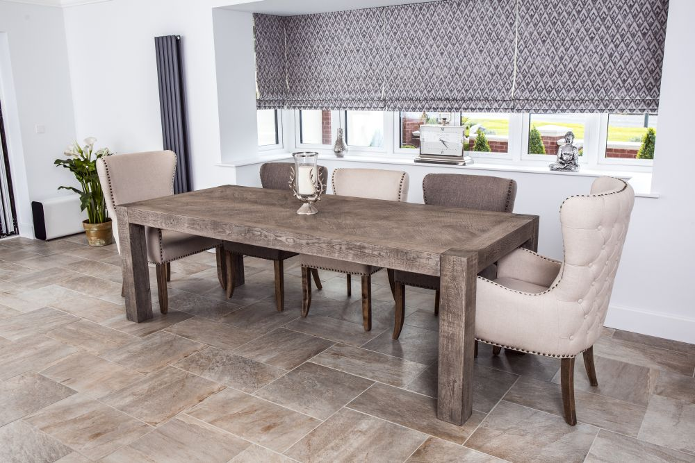 Rustic Oak Dining Table Reclaimed
