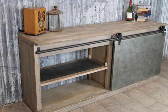 Sideboard Industrial Look ~ Copper sideboard industrial look peppermill interiors