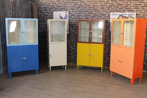 retro pharmacy cabinets