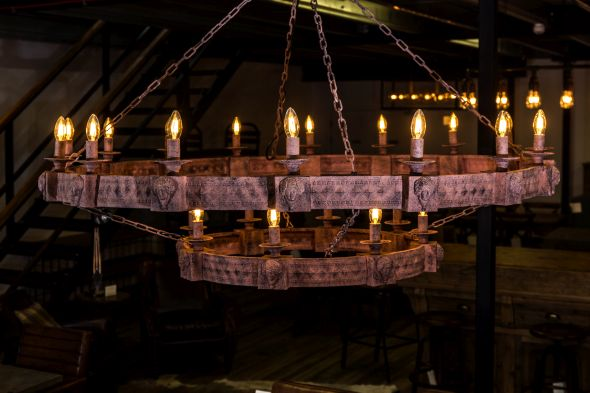 medieval gothic style chandelier
