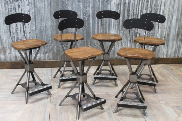 sheffield steel bar stool