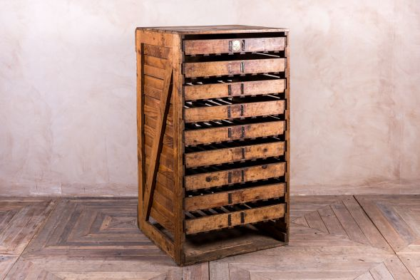1920s Vegetable Storage Rack
