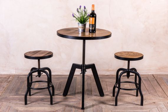 adjustable cafe table