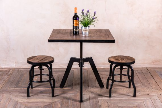Square Height Adjustable Table Range
