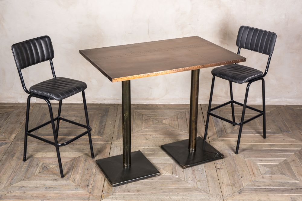 High pedestal table tall cafe bar tables with various tops watchthetrailerfo