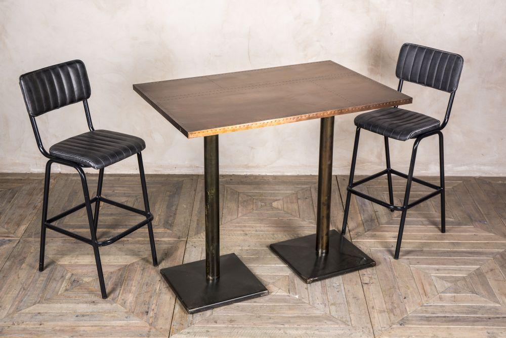 High pedestal table tall bar tables peppermill interiors watchthetrailerfo