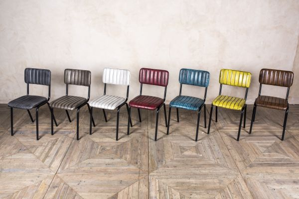 ribbed chair range