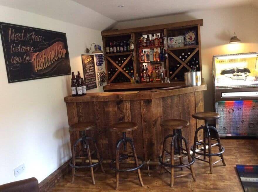 Retro Home Bar Vintage Home Pub Peppermill Interiors