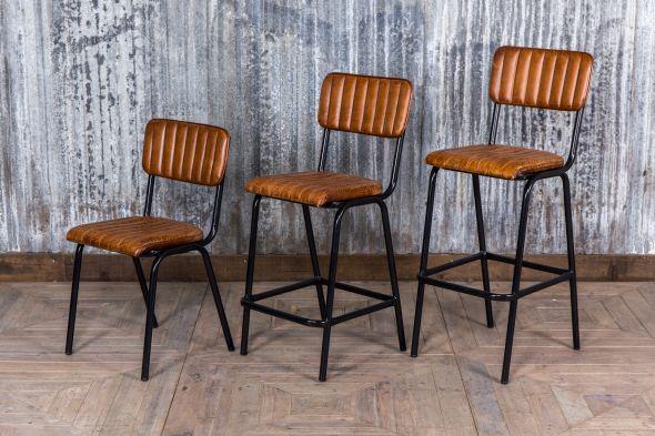 Marvelous Leather Breakfast Bar Stools Summervilleaugusta Org Cjindustries Chair Design For Home Cjindustriesco