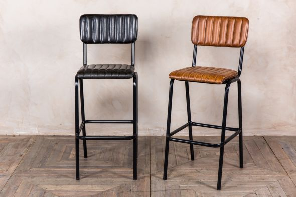 leather breakfast bar stools