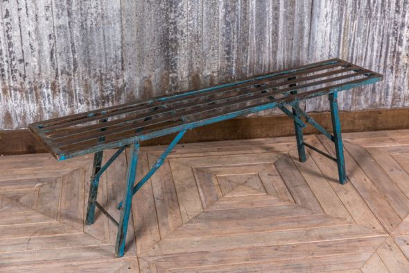 Enjoyable Industrial Metal Bench Vintage Folding Dining Bench Andrewgaddart Wooden Chair Designs For Living Room Andrewgaddartcom