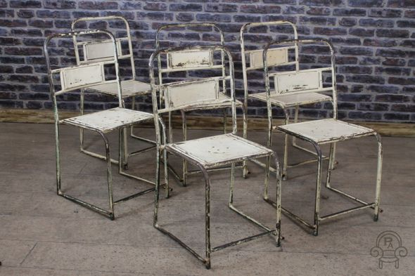 White Vintage Chairs
