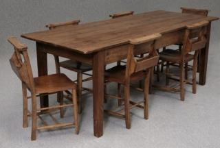 French Farmhouse Pine Table
