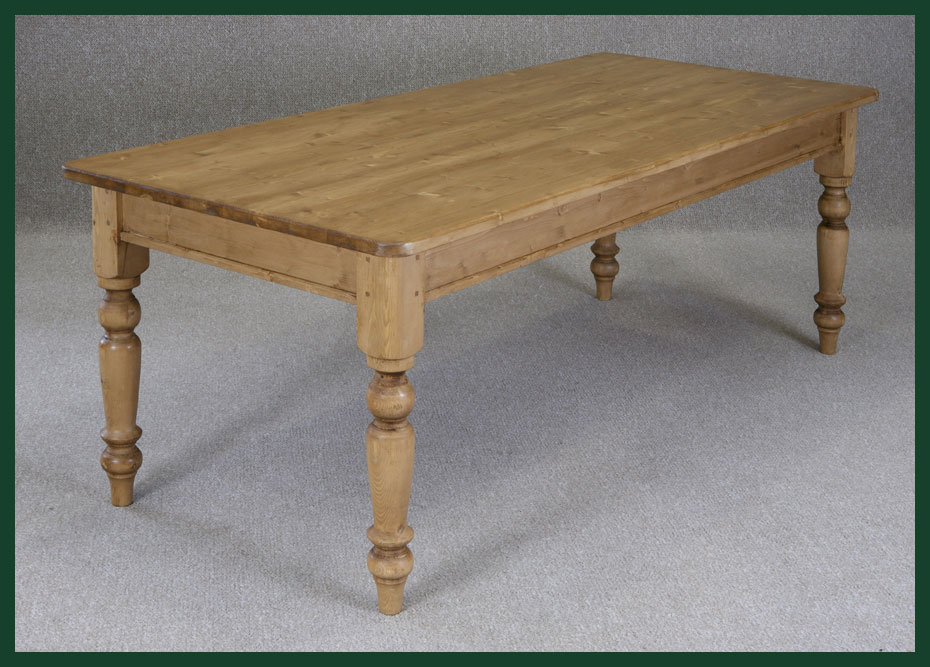 BESPOKE PINE FARMHOUSE TABLE HANDMADE TO ORDER BESPOKE ...
