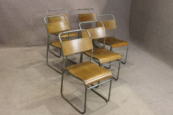 Brackley stacking chairs (6 now in stock 1/7)