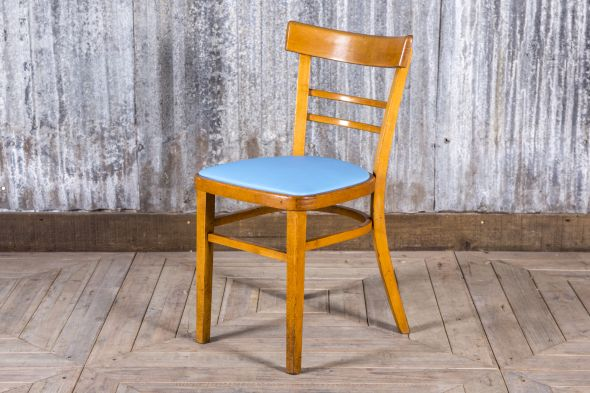 Blue Retro Cafe Chairs