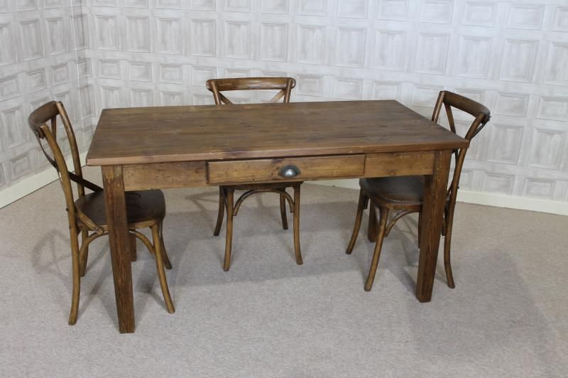 Cheap Pine Kitchen Table In Rustic Pine Farmhouse Kitchen Table