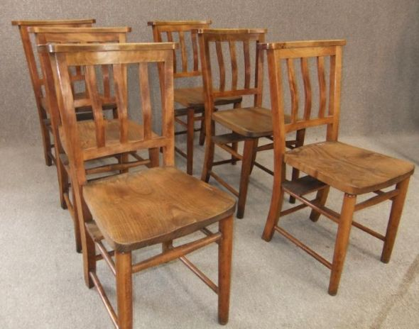 Chapel chair school chair