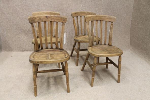 Slat back victorian chairs