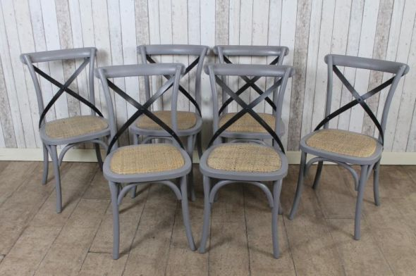 grey bentwood chair