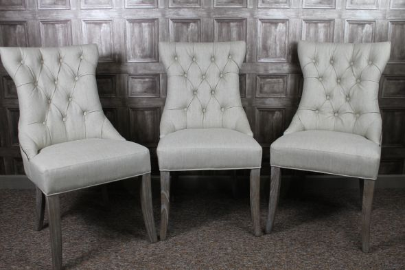 Dining Room Chairs French Style In Antique White