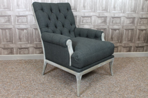 Charcoal armchair