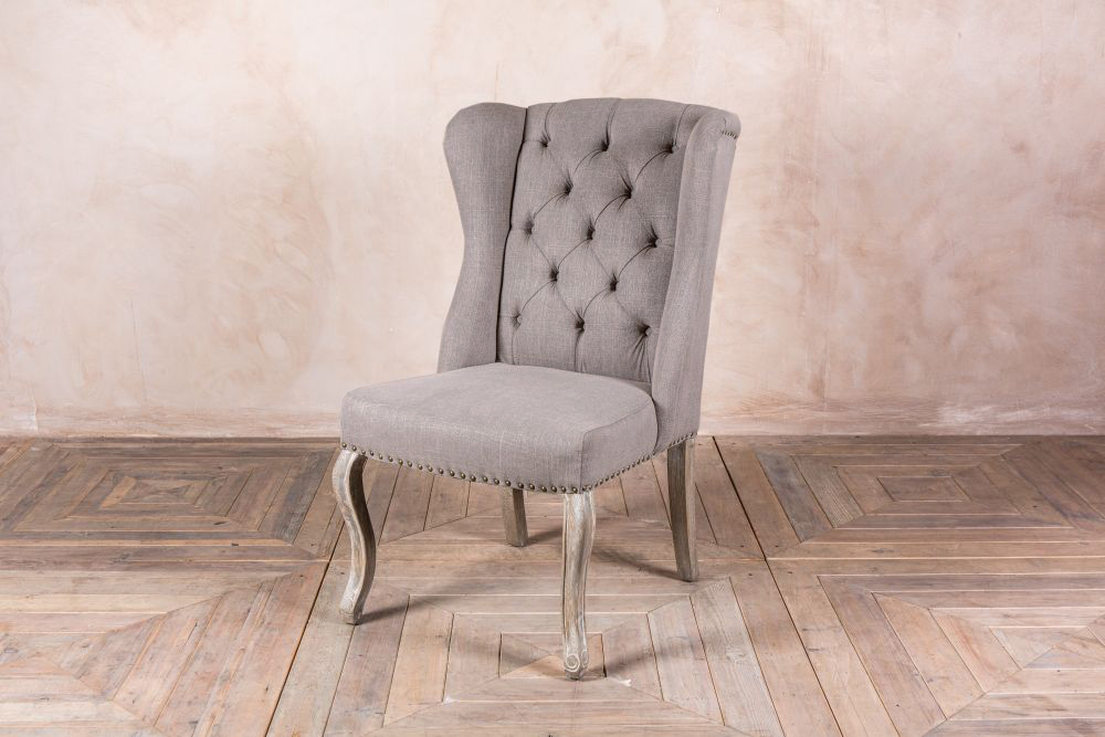 stone french style dining chairs