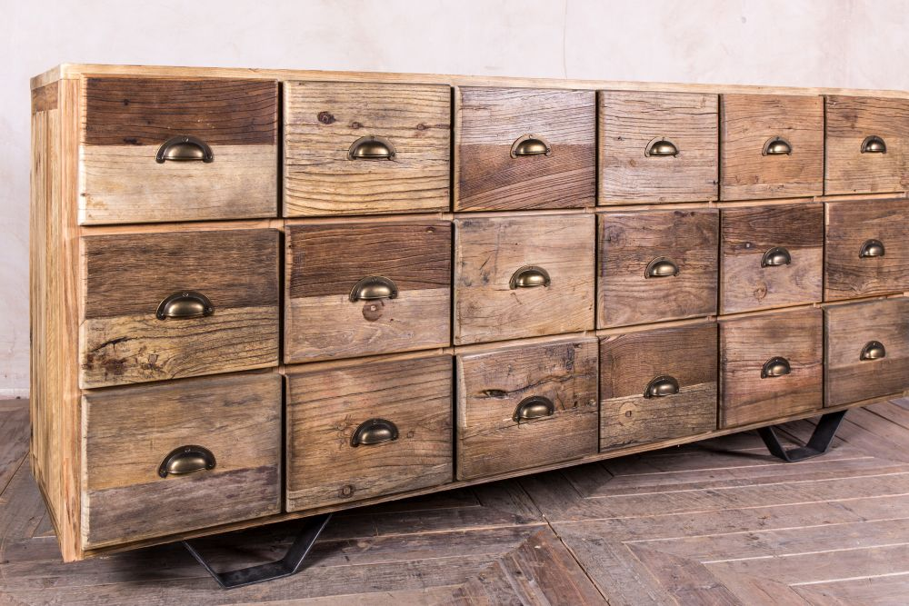 size 40 0a0b0 0f19d INDUSTRIAL STYLE CHEST OF DRAWERS   Peppermill Interiors