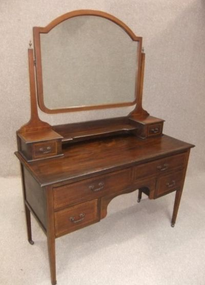 new style 76fb5 51714 Edwardian Dressing Table in Mahogany
