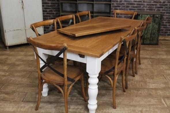 Extending Farmhouse Table Peppermill Interiors