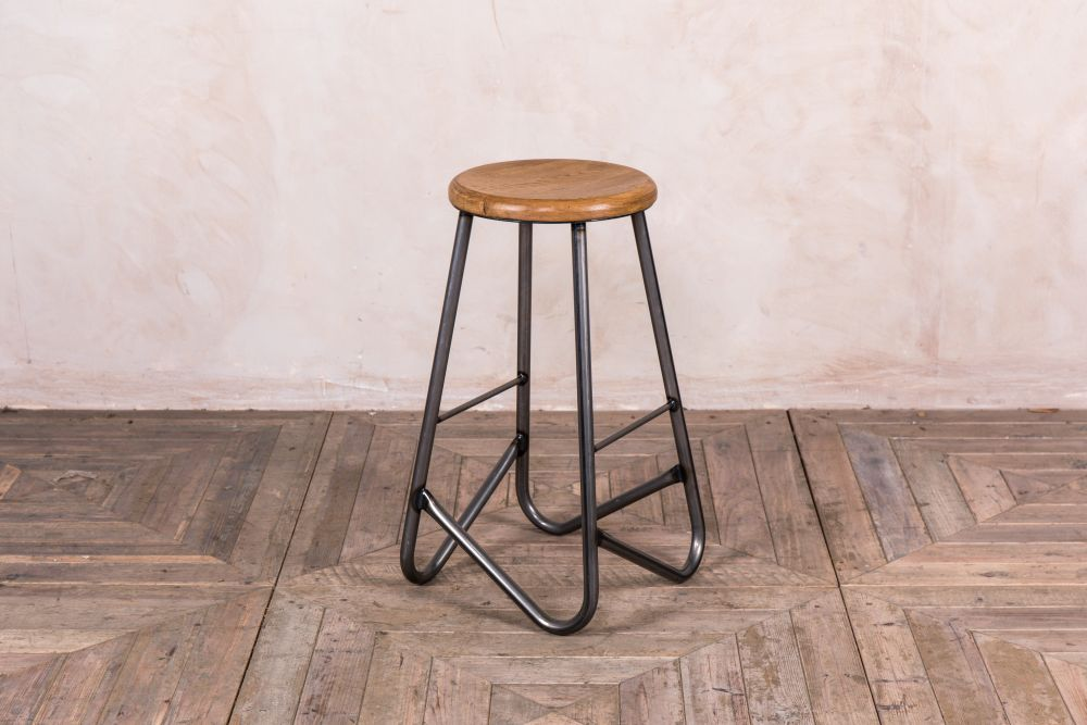 geometric metal breakfast bar stools