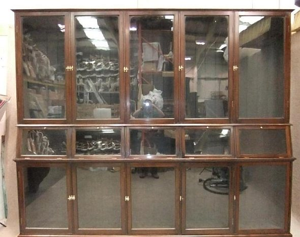 ANTIQUE SHOP DISPLAY / HABERDASHERY / COLLECTORS CABINET / BOOKCASE - Antique  Display Cabinets For Sale - Antique Display Cabinets For Sale Antique Furniture