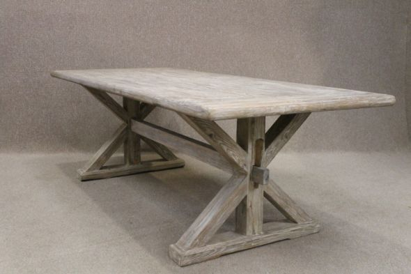 Limed elm table