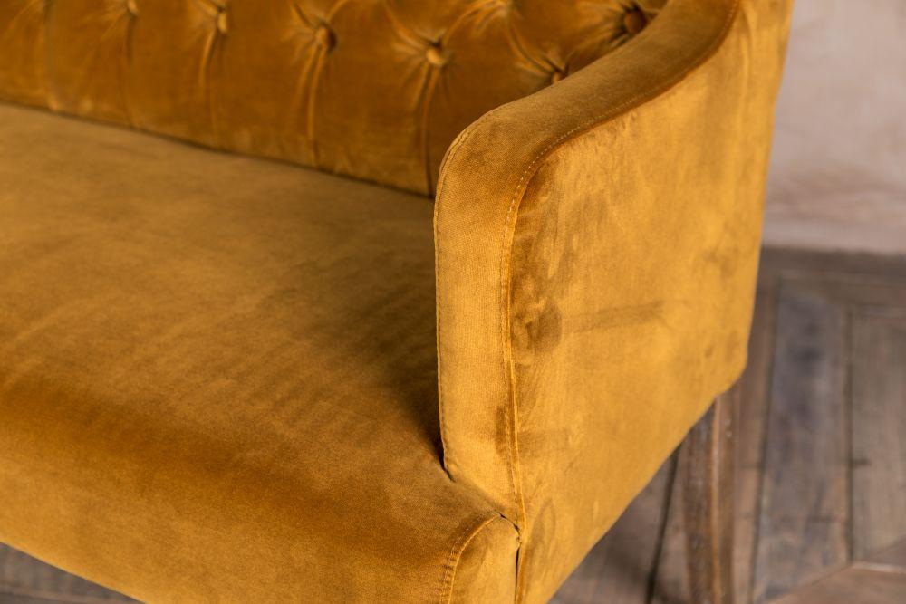 Velvet Dining Bench Upholstered Dining Bench Range Peppermill Interiors