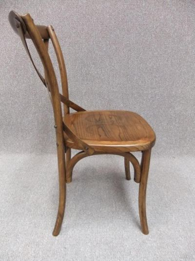 Bentwood Cross Back Chairs Choice Of Oak Or Elm Rattan