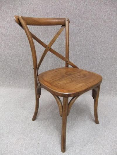 bentwood cross back chairs choice of oak or elm rattan or solid seat