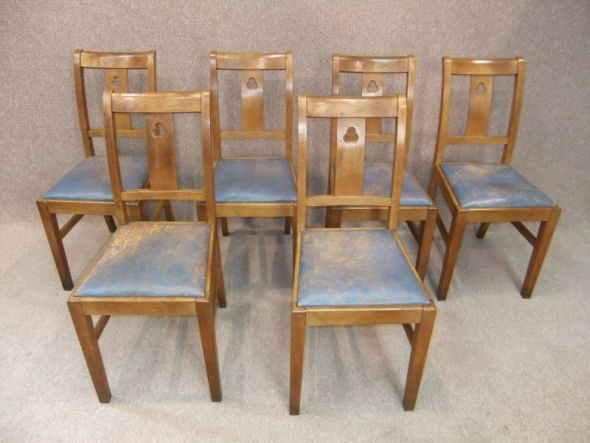 Oak Arts And Crafts Dining Chair