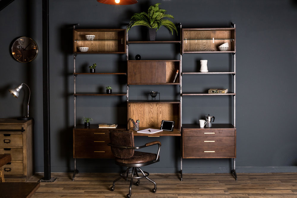 large shelving cabinet