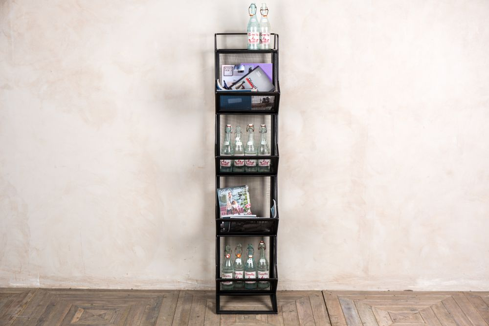 four tier storage rack