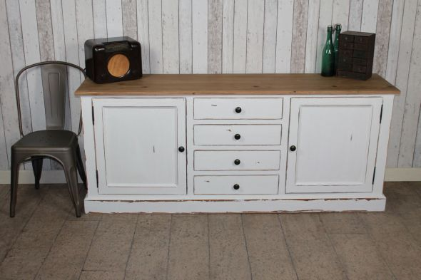 Distressed Sideboard Painted Shabby Chic